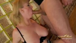 Granny love hardcore sex with her stepson
