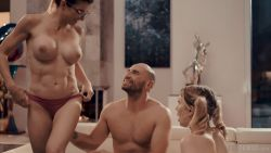 Mom and dad teach sex to stepdaughter
